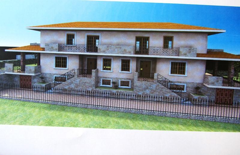 Porzione di bifamiliare in costruzione in località Pozzo del Sale