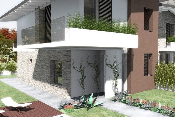 Villa indipendente con giardino in via Barbieri ad Avellino