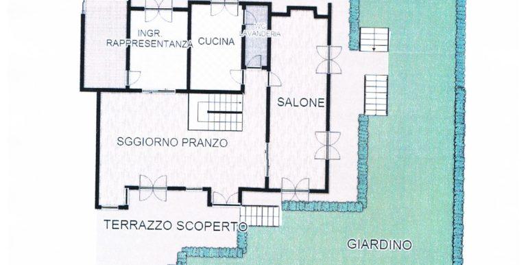 villa de angelis pianoterra