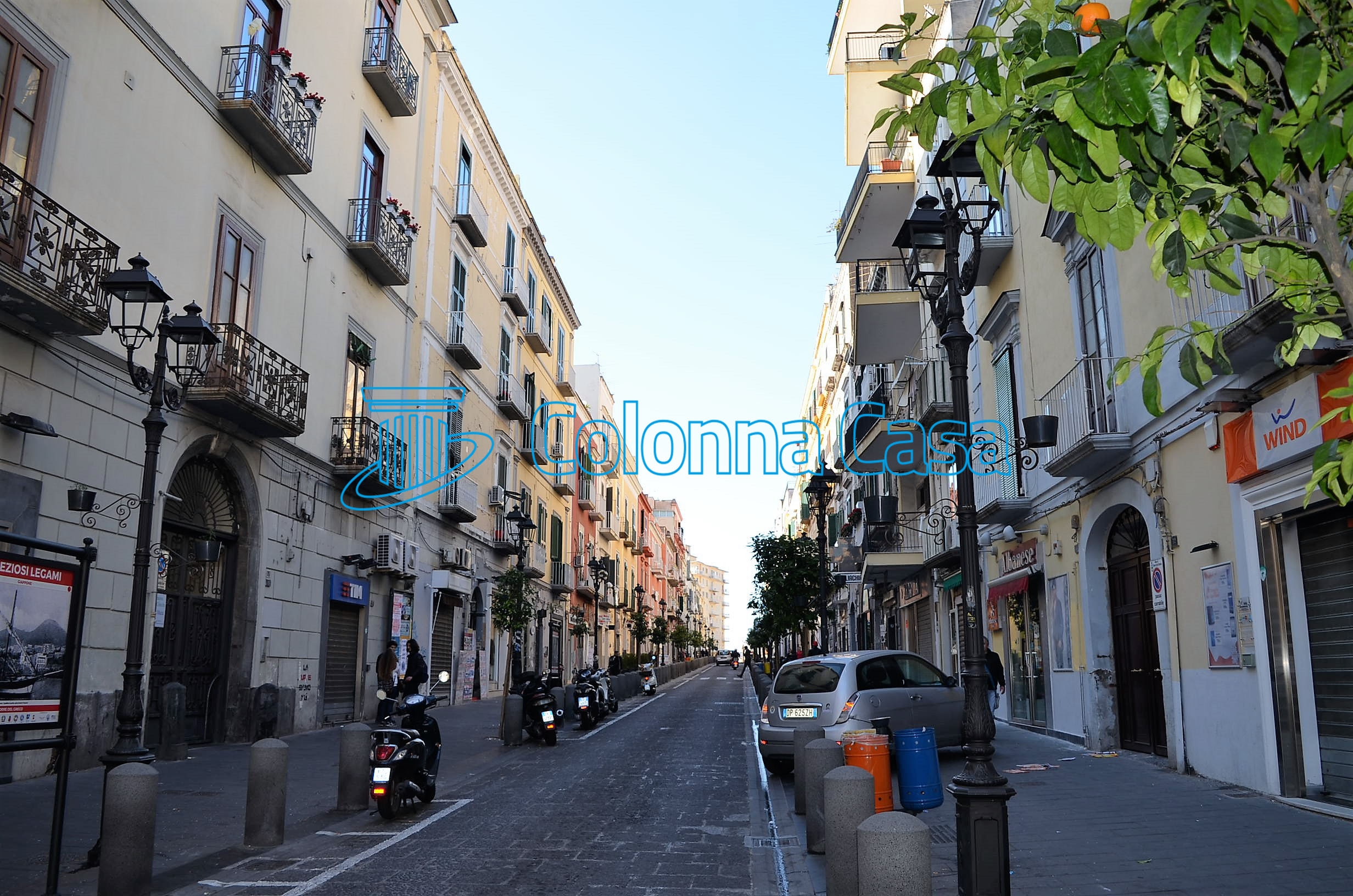 Appartamento con terrazzo a Torre del Greco
