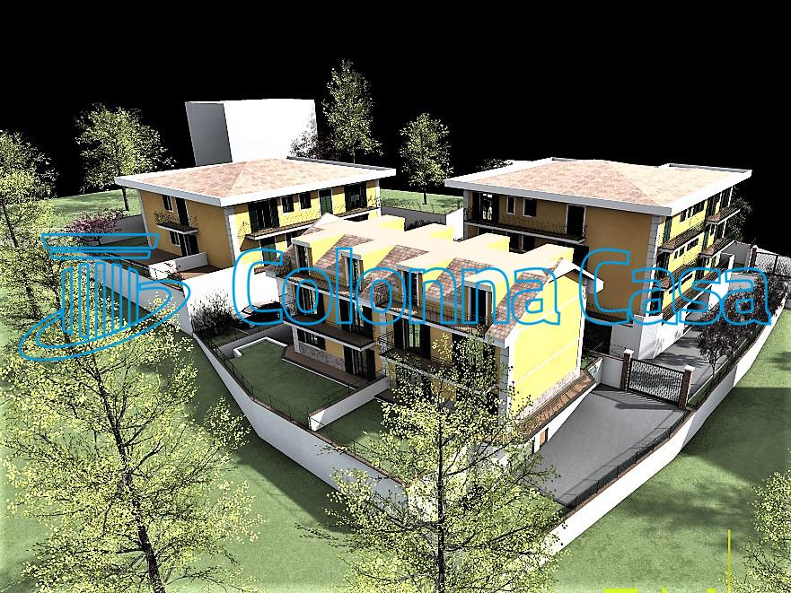 Baronissi appartamento in villa sue due livelli di nuova costruzione
