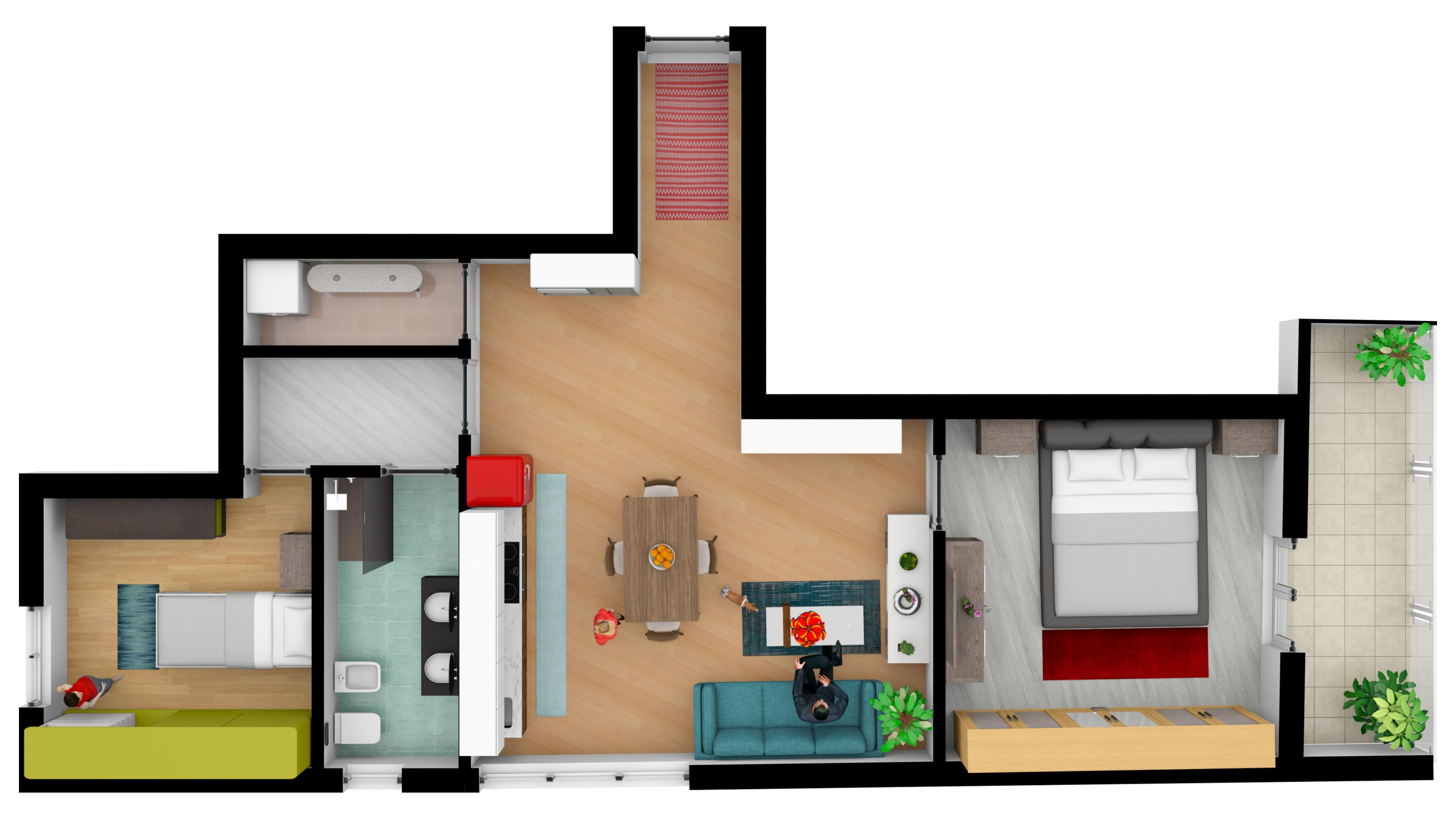 Appartamento nuova costruzione nei pressi del Teatro di Avellino