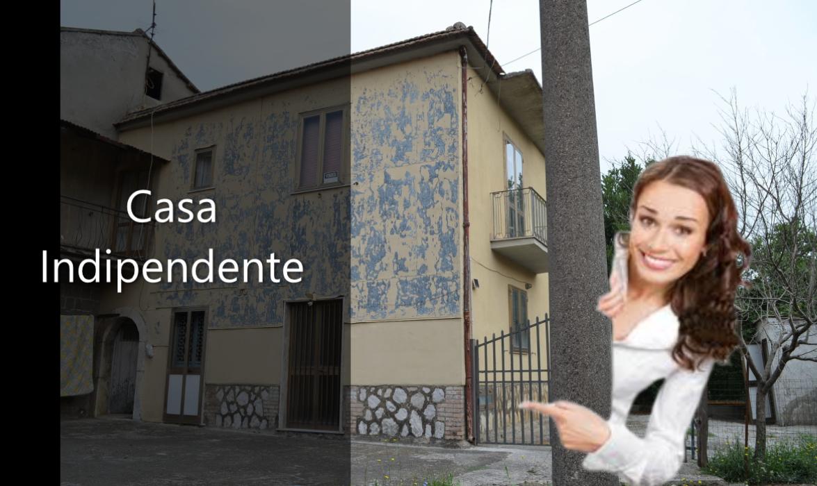 Contrada (AV) Casa indipendente su due livelli con giardino