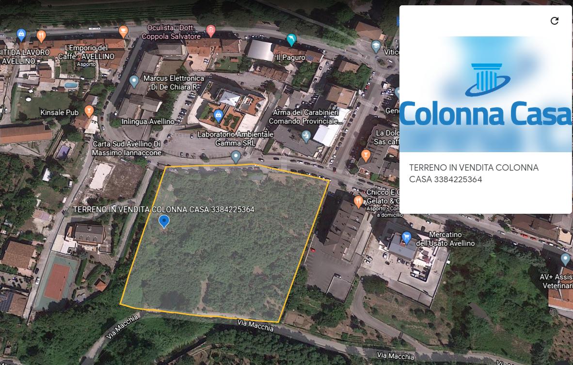 Avellino (AV) Terreno di 11.000 mq ad Avellino