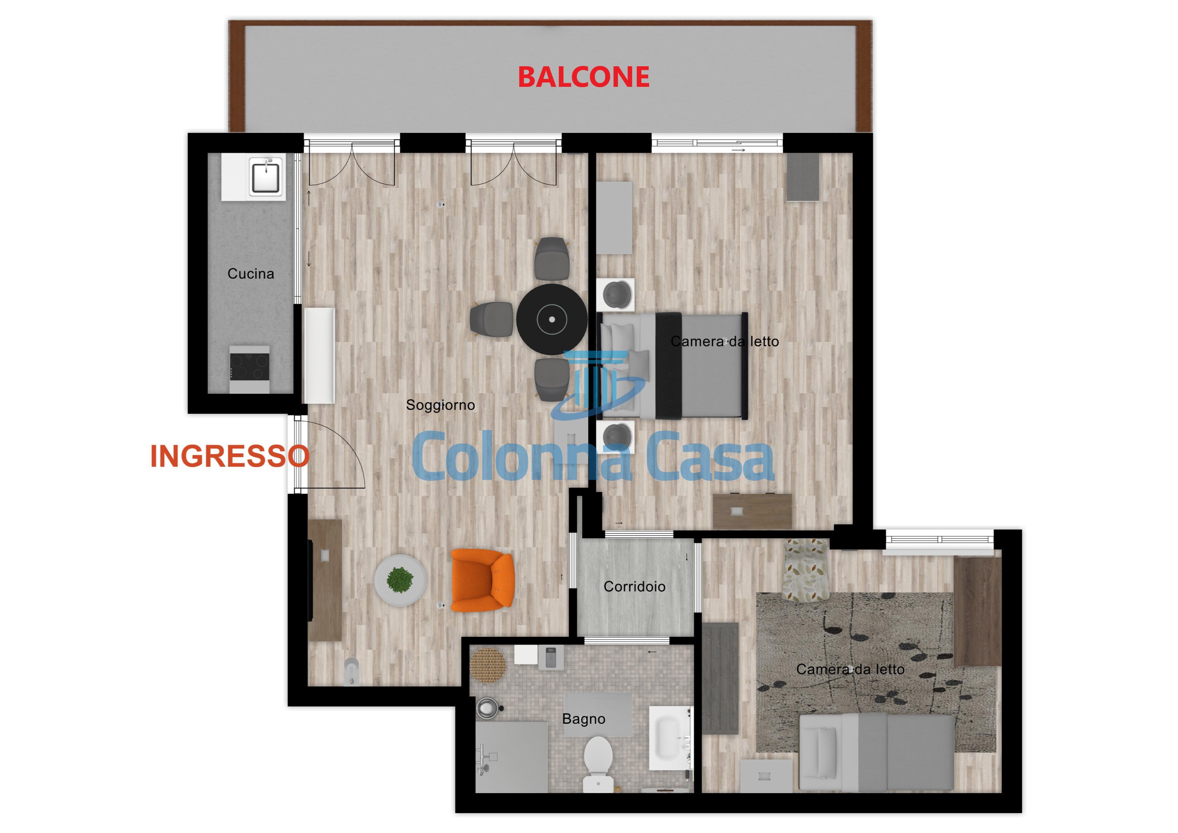 Avellino (AV) Appartamento zona Liguorini